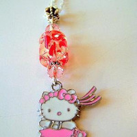 Hello Kitty ballerina candy necklace
