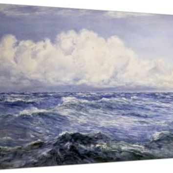 Bright Morning after a Breeze, 1893 Stretched Canvas Print by Henry Moore at Art.com