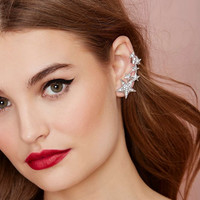 Fashion Clip on Star Earring Clips, Dimonded Star Earrings Studs