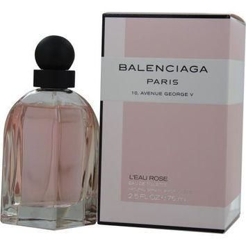 balenciaga balenciaga paris leau rose by edt spray 2 5 oz 2