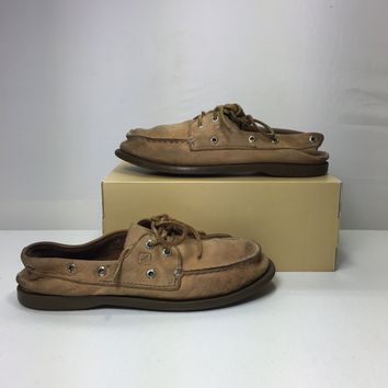 Sperry Big Kid Top-Sider Authentic Original Boat Shoe, Size 4.5