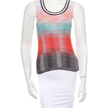 M Missoni Rib Knit Top