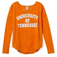 University of Tennessee Burnout Long-sleeve Drapey Tee