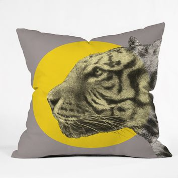 Garima Dhawan Wild 4 Throw Pillow