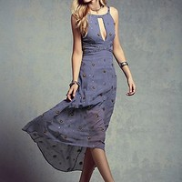 Free People Womens Beaded Beauty Dress