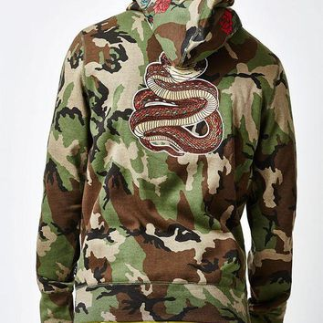 DCCKYB5 HUF Ambush Pack Pullover Hoodie