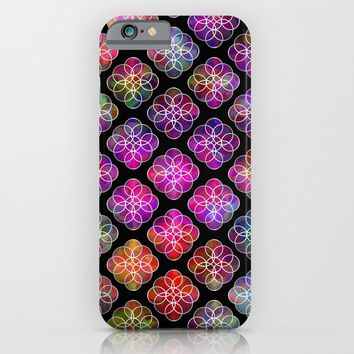 Rings Of Color Pattern iPhone & iPod Case by Sartoris ART