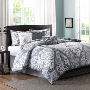 Madison Park Vienna 7 Piece Comforter Set & Reviews | Wayfair