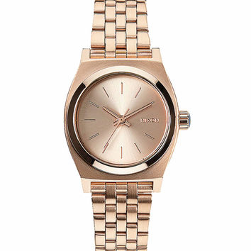 **Nixon The Small Time Teller All Rose Gold A399-897 Watch