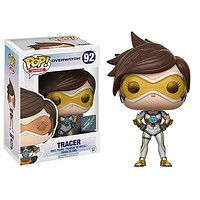 Funko Pop Games Overwatch Vinyl Figure - Posh Tracer Think Geek Exclusive