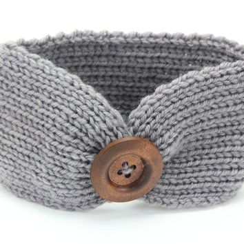Autumn and winter new baby crochet hand-knit baby headband