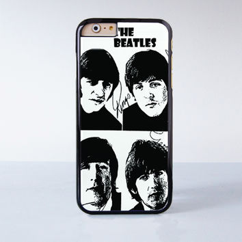 The Beatles Poster Vintage Cool Plastic Case Cover for Apple iPhone 6 6 Plus 4 4s 5 5s 5c