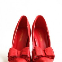 over the moon heels in red at ShopRuche.com