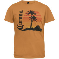 Corona - Retro Beach T-Shirt