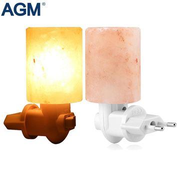 Rotatable Cylinder Himalayan Salt Lamp