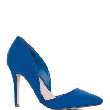 Electric Love Pumps in Cobalt