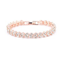 New exquisite luxury crystal bracelet simple diamond full drill bracelet
