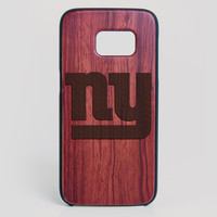 New York Jets Galaxy S7 Edge Case - All Wood Everything