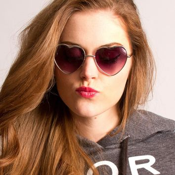 Women's Sunglasses Heart Shaped
