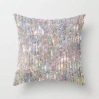 To Love Beauty Is To See Light (Crystal Prism Abstract) Throw Pillow by soaring anchor designs ⚓ | Society6