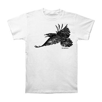 Raveonettes Men's  Raven Slim Fit T-shirt White