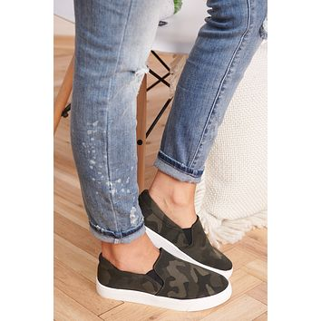 Meant For You Sneakers (Dark Camo)