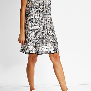 Prined Shift Dress - Kenzo | WOMEN | US STYLEBOP.COM