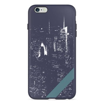 New Yorker City Night PlayProof Case for iPhone 6 Plus / 6s Plus