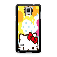 Hello Kity Patterns Samsung Galaxy Note 4 Case