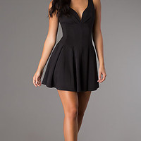 Short Sleeveless Little Black Dress