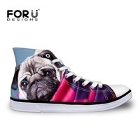 Converse Style 3D Pug Sneakers