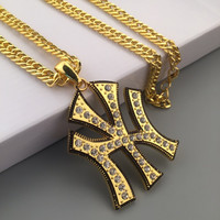 Jewelry Gift New Arrival Shiny Stylish Hot Sale Fashion Hip-hop Club Necklace [6542777795]