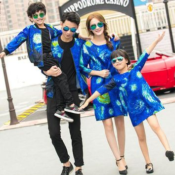 LMFLD1 Family Matching Clothes For Mother Daughter Dresses Family Look Son Outfits Kits Mommy and Me Father Daughter Clothes GH274