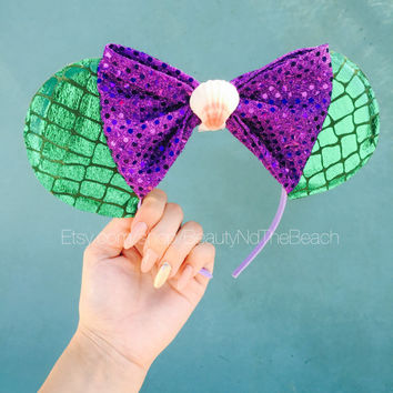 The little mermaid minnie ears disney