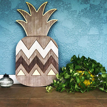 Pineapple Decor,Wall Art, Pineapple Print, Wood Signs, Pineapple Wall Art,Wood Wall Decor, Wall Signs, Dorm Living, Best Selling Decor