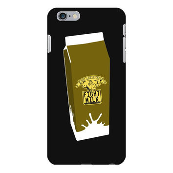9. fight milk 002 iPhone 6/6s Plus  Shell Case