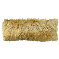 Big Caramel Faux Fur Pillow