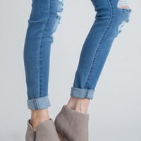Seychelles Chaparral Nubuck Taupe Boots