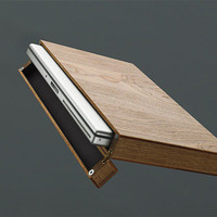 Wood laptop case for 15 inch laptop (suitable for Macbook etc... )