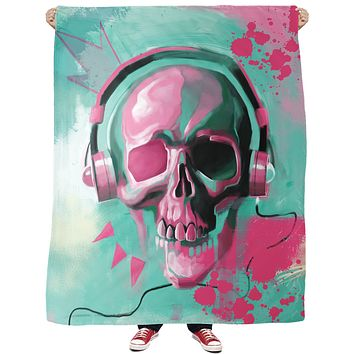 Skull Candy Fleece Blanket
