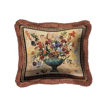 Fine Art Tapestries Home Decorative Radiance Cotton Pillow