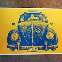 Longevity VW Bug 11 x 17 Print