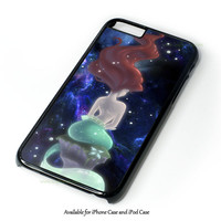 Beautiful Hair Ariel Little Mermaid Design for iPhone and iPod Touch Case