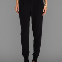 Vince Jogger Pant in Black