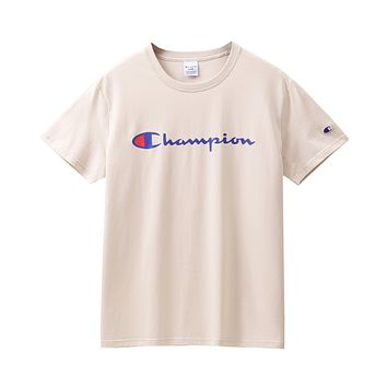 Champion Men's and women's printed T-shirt