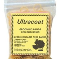 Ultracoat Latex Groomers Cat & Dog Bands 1000 Pack