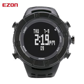 Top High Quality EZON H001A01 Multifunctional Outdoor Hiking Climbing Sports Watches with Altimeter Barometer Compass