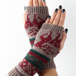 Fair Isle Knit Hand Warmers | UrbanOG