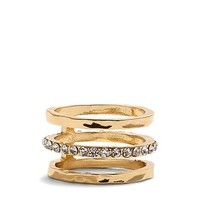 Chico's Ligne Gold Stackable Ring