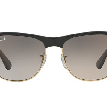 NEW SUNGLASSES RAY-BAN CLUBMASTER OVERSIZED RB4175 in Black